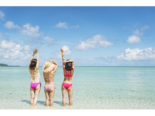 イーストハガニアビーチ 写真提供:グアム政府観光局