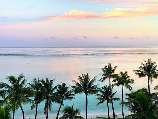 碧い海でアクティブ体験 ハッピーハネムーン グアム4日間