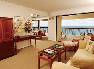 ハワイでキッチンやリビング付きのお部屋に滞在!
