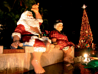 クリスマスイルミネーション(ハワイ)