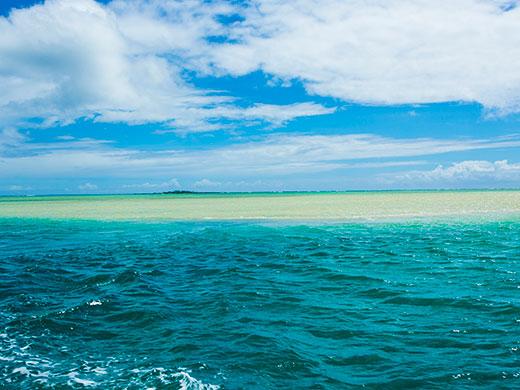 カネオヘ湾サンドバー