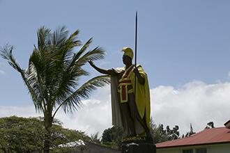 カメハメハ大王像/ハワイ島/イメージ
