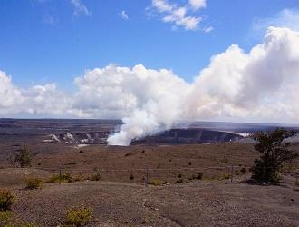 ハワイ島/ハレマウマウ火口