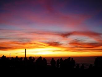 マウナケア山頂サンセットイメージ