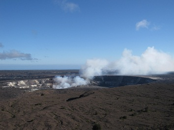 キラウエア火山/イメージ(オプショナルツアーの一例)