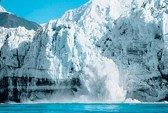 氷河クルーズ