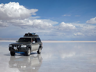 ウユニ塩湖はたっぷり2日間観光!