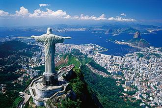 ブラジル リオデジャネイロ コルコバードの丘