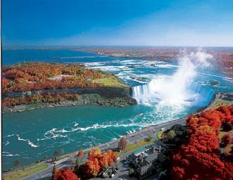 ナイアガラの滝(紅葉)