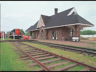 ケンジントン駅舎跡