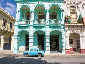 古き良き時代を彷彿とさせるカリブ海の楽園キューバへ