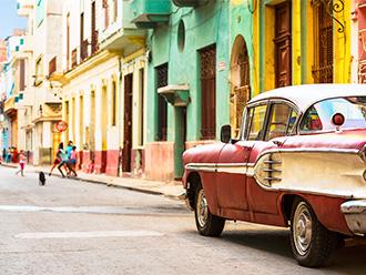 ハバナの街並(イメージ)