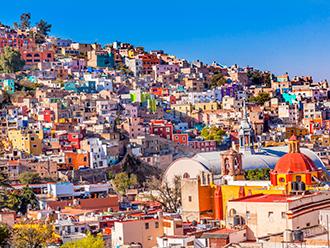 メキシコ グアナファトの街並み