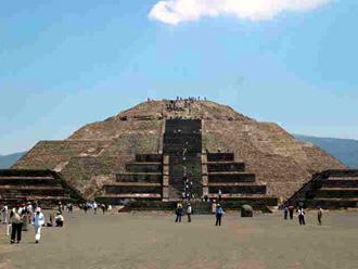 太陽のピラミッド/テオティワカン