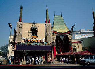 チャイニーズシアター/ハリウッド/ロサンゼルス