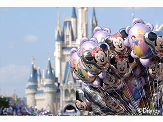 シンデレラ城 マジックキングダム・パーク(C)Disney