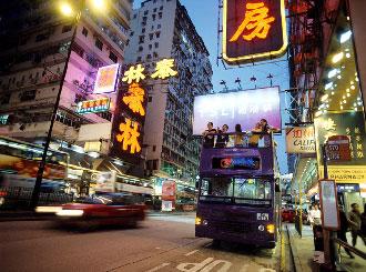 オープントップバス(イメージ)