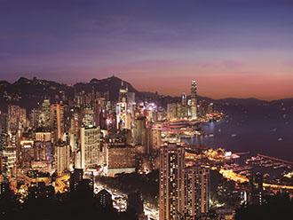 香港夜景(イメージ)提供:香港政府観光局