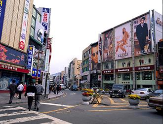釜山市内 街並みイメージ