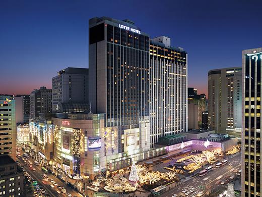 ロッテホテル・ソウル/外観