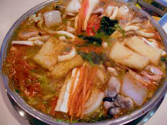 海鮮鍋のイメージ