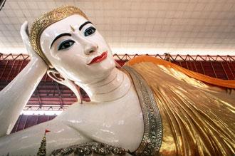 チャウッターヂー寝釈迦仏(イメージ) 写真提供:日本アセアンセンター
