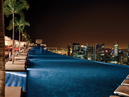 Marina bay sands infinity pool singapore - Naver