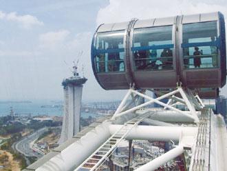 シンガポールフライヤー(イメージ)