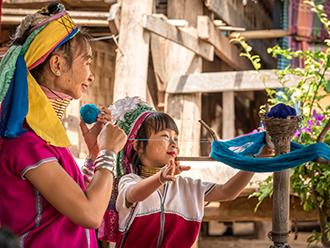 バンコクのインスタ映えスポットや首長族の村を訪問!