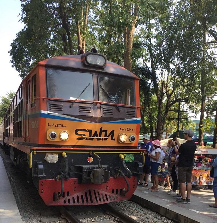タイ西部・カンチャナブリ・泰緬鉄道の旅