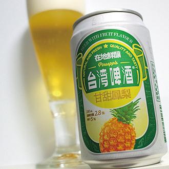 お酒が苦手な女子でも飲みやすい♪台湾フルーツビールを1人1缶ご用意