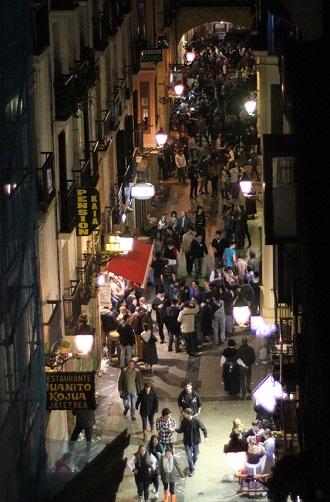 サン・セバスチャン バル街