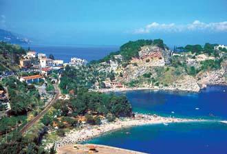 シチリア島 タオルミーナ