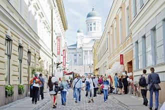 ヘルシンキの街並み(写真提供:ヘルシンキ観光局)