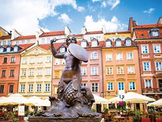 ワルシャワ旧市街(イメージ)