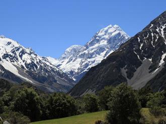 ニュージーランドたっぷり南島周遊 8日間