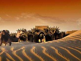 砂漠のリゾートに泊まる ドバイ 5日間 <直行便エミレーツ航空ビジネスクラス利用>