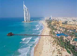 ジュメイラビーチ 写真提供:ドバイ政府観光・商務局